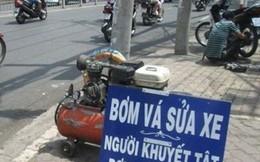 Sài Gòn với những tấm biển ấm lòng người qua đường