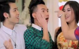 Clip nhạc xuân tranh giành hot girl cực hài của 4 ca sỹ Việt
