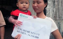 Độc giả ủng hộ bé 18 tháng tuổi bỏng nước sôi hơn 14 triệu đồng