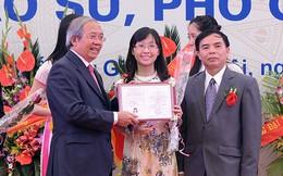 Những gương mặt Giáo sư, Phó Giáo sư trẻ nhất Việt Nam