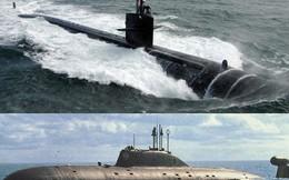 """Tàu ngầm tấn công hạt nhân Nga hay Mỹ """"lép vế"""" hơn?"""