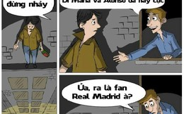 """Ảnh chế: Xót xa fan cuồng """"nhảy lầu"""" vì Real Madrid"""