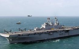 Siêu tàu đổ bộ tấn công mạnh ngang tàu sân bay của Hải quân Mỹ
