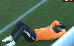 """Pepe """"triệt hạ"""" Ronaldo ngay trên sân tập"""