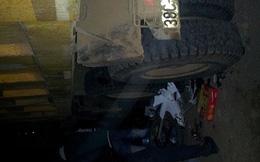 Đầu năm, xe tải lấn đường tông chết 2 người