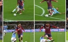 """Messi xóa dớp, trọng tài giúp """"Bar-gần"""" tứ kết"""