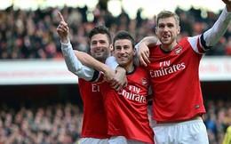Arsenal, Man City, Man United thể hiện đẳng cấp đại gia