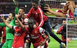 Arsenal 1-1 (pen 4-2) Wigan: Suýt chết vì trò đùa của Giáo sư