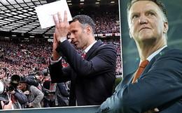 Sao Man United ồ ạt ủng hộ Ryan Giggs, Van Gaal còn có cửa?