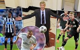 Được cấp 100 triệu bảng, HLV Wenger điên cuồng mua sao