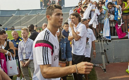 Cris Ronaldo tuyên bố trở lại Man United