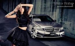 """Sắc đen quyến rũ và gợi cảm lu mờ """"Mercedes"""" đắt tiền"""