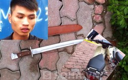 """Bị 141 bắt vì mang thanh kiếm dạng lưỡi lê, xin mang về …""""vứt"""""""