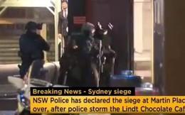 Bắt cóc ở Sydney: Giây phút biệt kích nổ súng ập vào quán cafe