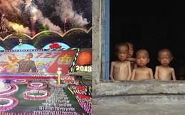 Triều Tiên: Ôm bụng đói ngồi xem lễ hội đồng diễn lớn nhất TG