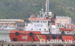 CẬN CẢNH: Tàu kiểm ngư, cảnh sát biển vừa trở về từ Hoàng Sa
