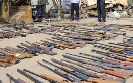 Tịch thu lô lớn vũ khí ở tây nam Trung Quốc