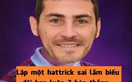 "Ảnh chế: ""Vua ăn hại"" Casillas"