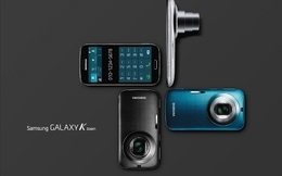 Samsung ra mắt smartphone lai máy ảnh Galaxy K Zoom