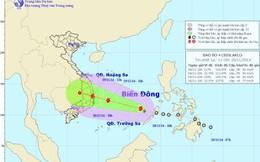 Bão cấp 10 tại biển Đông, từ Đà Nẵng đến Bình Thuận mưa rất to