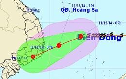 Đêm nay, bão số 5 đổ bộ vào đất liền