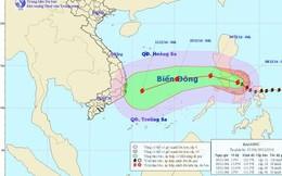 Siêu bão Hagupit còn rất mạnh, đang tiến gần biển Đông