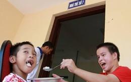 Về Ba Vì thăm trẻ chùa Bồ Đề