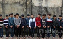 Trai làng hỗn chiến, 1 người tử vong, 23 đối tượng bị bắt