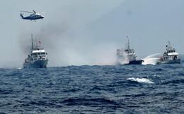 Tàu hải cảnh Trung Quốc rượt đuổi tàu Cảnh sát biển Việt Nam