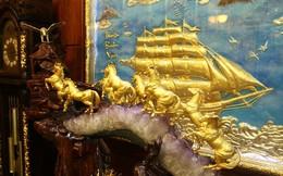 Chiêm ngưỡng biệt thự dát vàng 24K tại Hà Nội