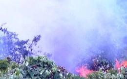 Cháy lớn ở rừng Nam Hải Vân, nhiều tiếng nổ như bom