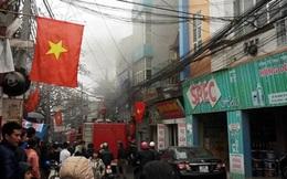 Cháy căn nhà 4 tầng khóa kín cửa ở Cổ Nhuế, Hà Nội
