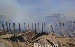 Huy động cả xã dập đám cháy kinh hoàng ở 16 lò gạch