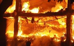 Video: Toàn cảnh vụ cháy nghiêm trọng tại Luxury Bar Hà Nội