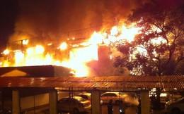 Cháy bar Luxury do chập điện, thiệt hại 10 tỷ đồng
