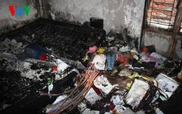Căn nhà vắng chủ bốc cháy, hàng xóm phá cửa khống chế ngọn lửa
