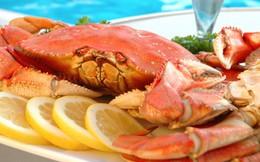 Có 7 bệnh sau phải cẩn thận khi ăn cua biển