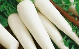 """Củ cải trắng: """"Nhân sâm giá rẻ"""" ai cũng nên dùng"""