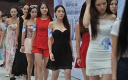 """3.200 hot girl, chân dài đi thi """"ngực đẹp"""""""