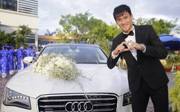 Xe đón dâu 6 tỷ trong đám cưới Công Vinh - Thủy Tiên