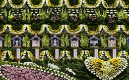 Màu trắng tang thương phủ kín Hàn Quốc