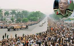 Nghẹn ngào phút cuối của Đại tướng Võ Nguyên Giáp ở Thủ đô