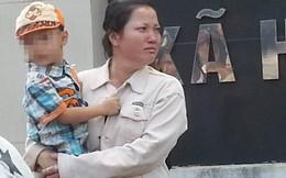 Nước mắt người vợ ôm con nhìn chồng đi tù vì ghen