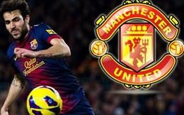 Barca quyết định bán Fabregas: Chờ gì nữa Man United?