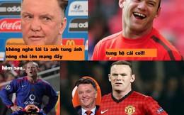 """Dám """"bật"""" Van Gaal, Rooney bị tung ảnh """"nóng"""" lên mạng"""