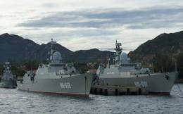Huấn luyện trên biển ở Lữ đoàn Hải quân 162