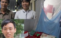 """""""Cậu bé Vàng"""" mơ gặp GS Ngô Bảo Châu bật khóc nhìn bố mẹ phụ hồ"""