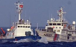 Gần 40 tàu cá Trung Quốc dàn hàng ngang chặn tàu cá Việt Nam