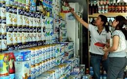 Hôm nay áp giá trần 25 mặt hàng sữa