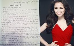 Chữ viết tay xấu-đẹp của mỹ nhân Việt